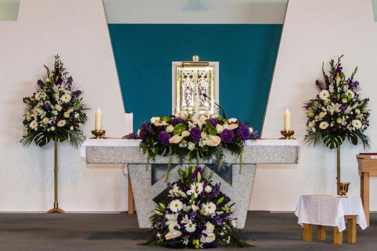 Church Wedding Decorations - Altar Flowers Spray
