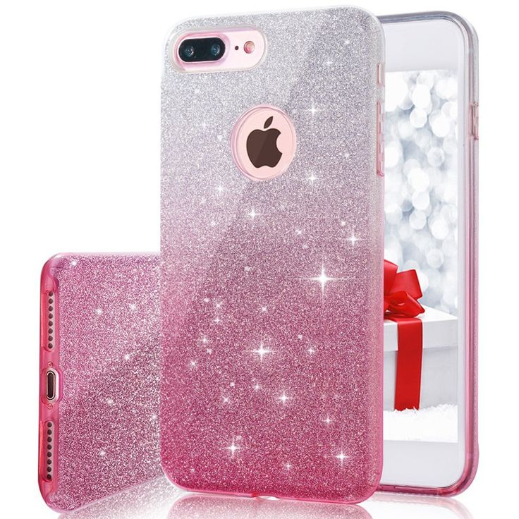 Cheap case for iphone, Buy Quality cute case directly from China case for iphone 6 Suppliers: for iPhone 7 Case Gradient Bling Glitter Pretty Cute Case for iphone 6 6S 7 8 PLUS 5 5S SE Slim Silicone Unique Protective Cover