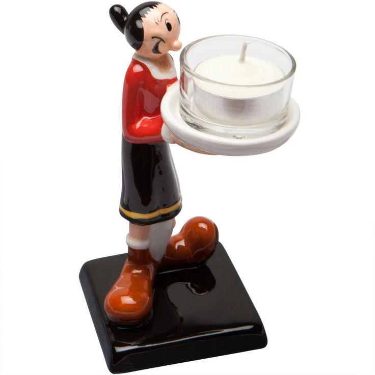 Popeye - Olive Oyl Tea Light Holder
