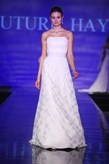 Couture Hayez - Obi - Abito in organza di seta  e raso duchesse