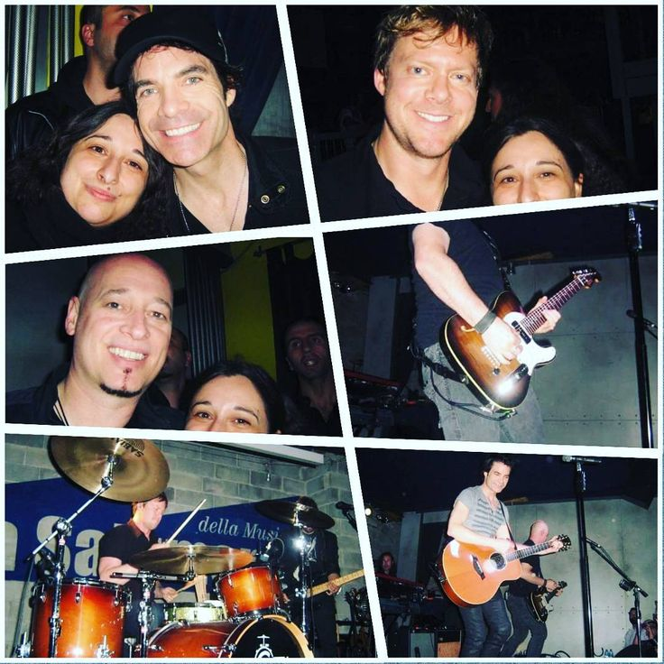 #tbt me with the guys of Train. Best concert of my life  #memories #train #patmonahan #jimmystafford #scottunderwood #milan #wheniwasfat #eightyearsago