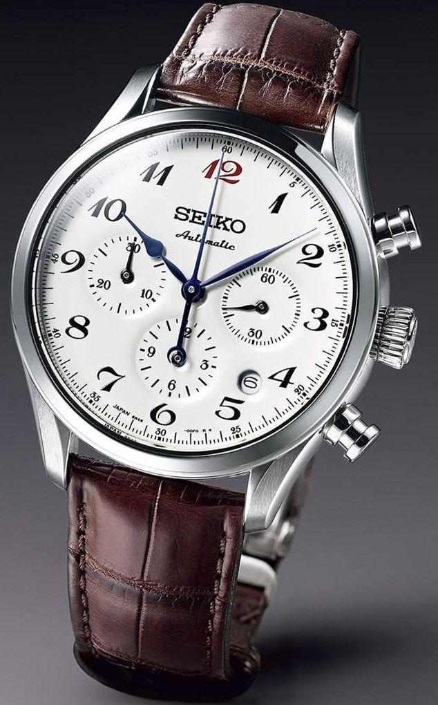 J'aime Les Montres: La Montre du jour: Seiko Chronographe Presage SRQ019