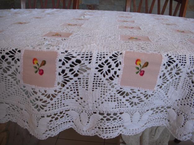 103 best images about manteles a crochet on pinterest - Mantel de crochet ...