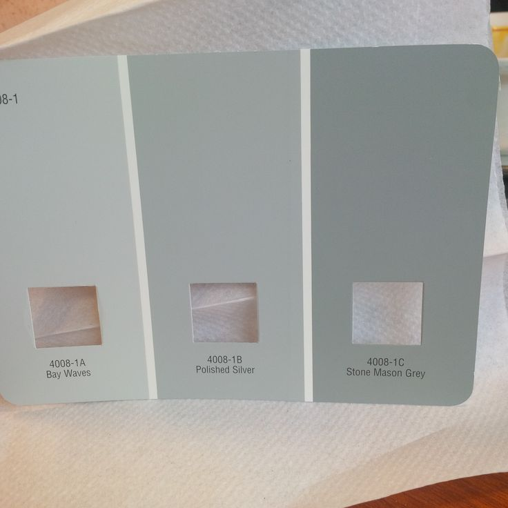Valspar paint baywaves polished silver stone mason grey for Gray stone paint color
