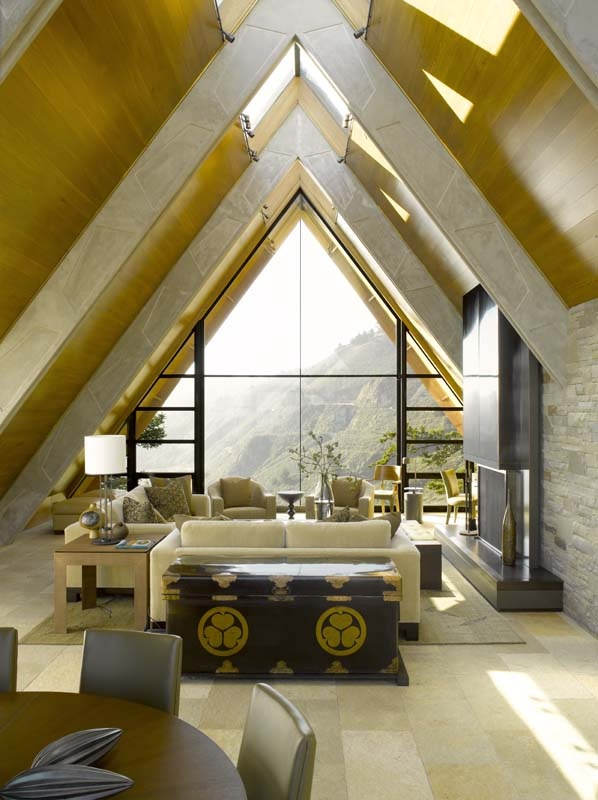 love the use of this attic space a frame homes pinterest