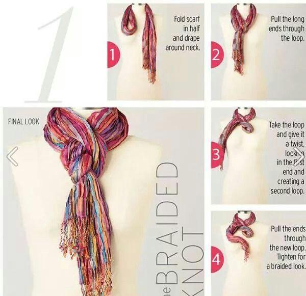 1000 ideas about wear a scarf on tie a scarf