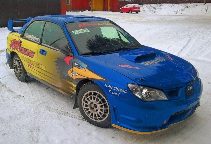 Some co-driving in a proper rally car. Photo Jukka Kolari, Coriosi www.coriosi.com