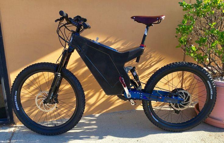 Лучшие Пользовательские Электрический Горный Велосипед Углерода | Грузовых Король Велосипеда