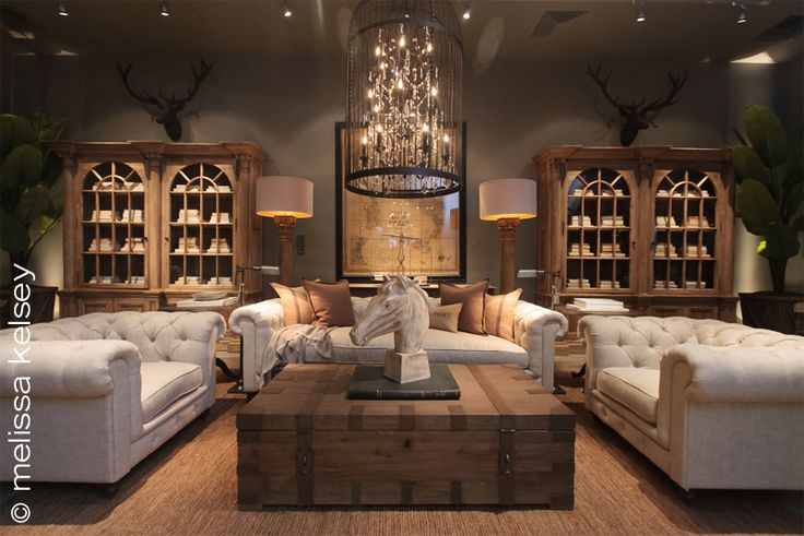 Style Baroque Décoration Restoration Hardware Store Opening At City Creek Center