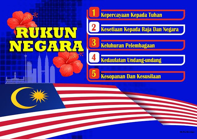 Rukun Negara Malaysia Tuhan Malaysia