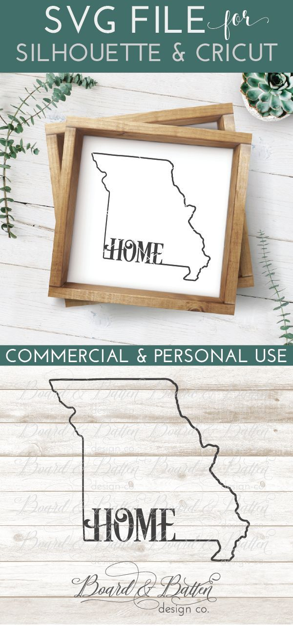 State Outline Home Svg File Mo Missouri State Outline Silhouette School Blog Svg