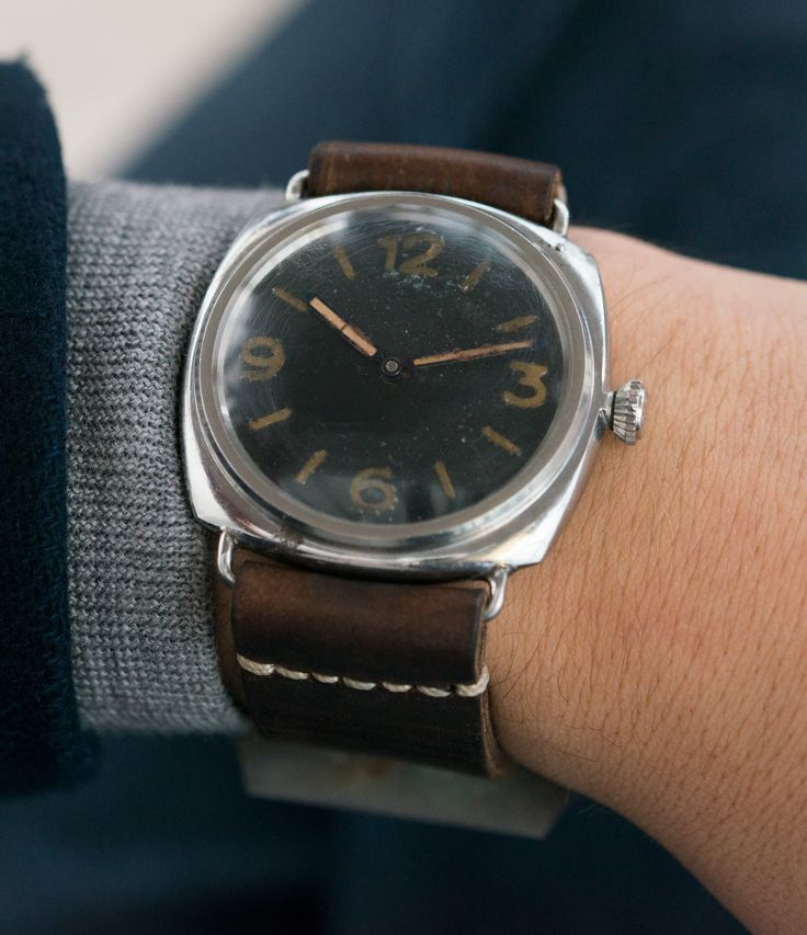 vintage military watch Panerai 3646 Type D/E military World War 2 at A Collected Man London UK