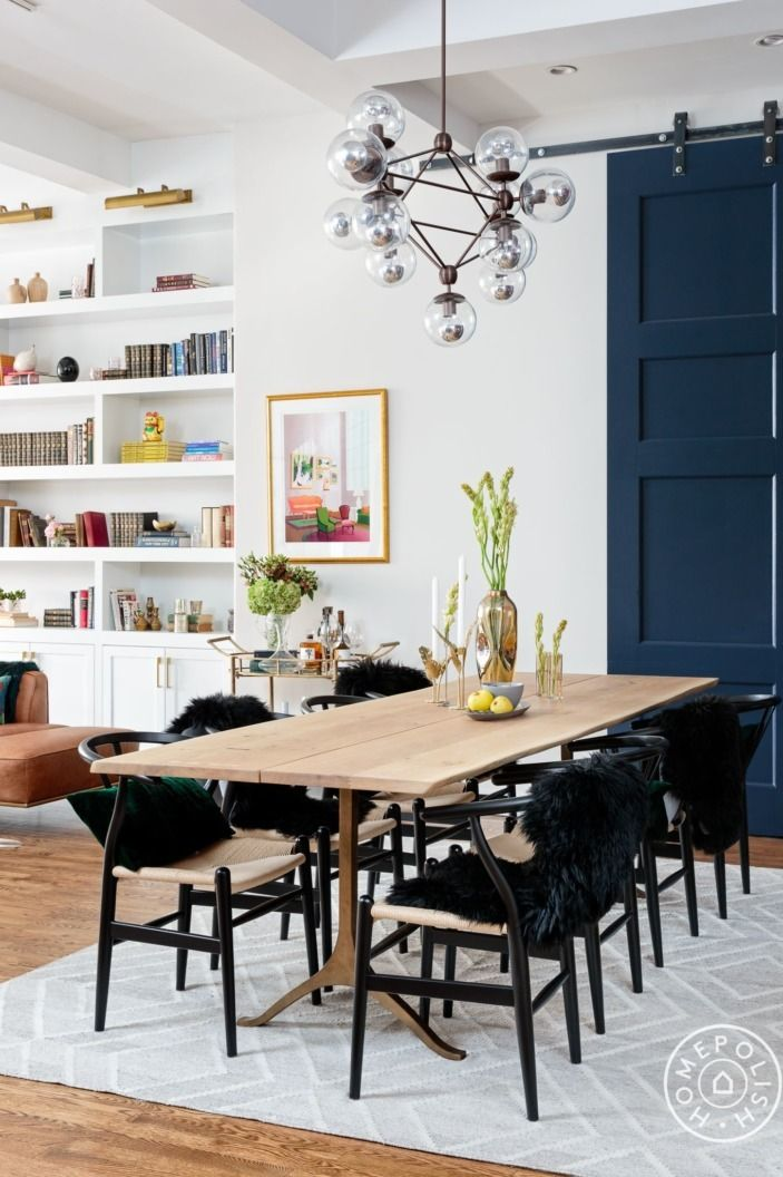 Awe Inspiring A Chelsea Apartment Dressed In Jewel Tones Dining Rooms Ocoug Best Dining Table And Chair Ideas Images Ocougorg