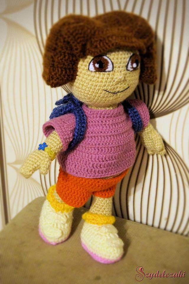 Dora poznaje świat/ Dora the Explorer Crochet