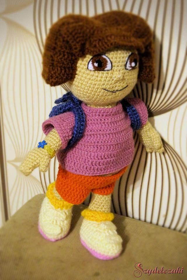 Dora poznaje świat/ Dora the Explorer Crochet