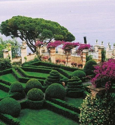 La Cervara near Portofino. Great Gardens of Italy.