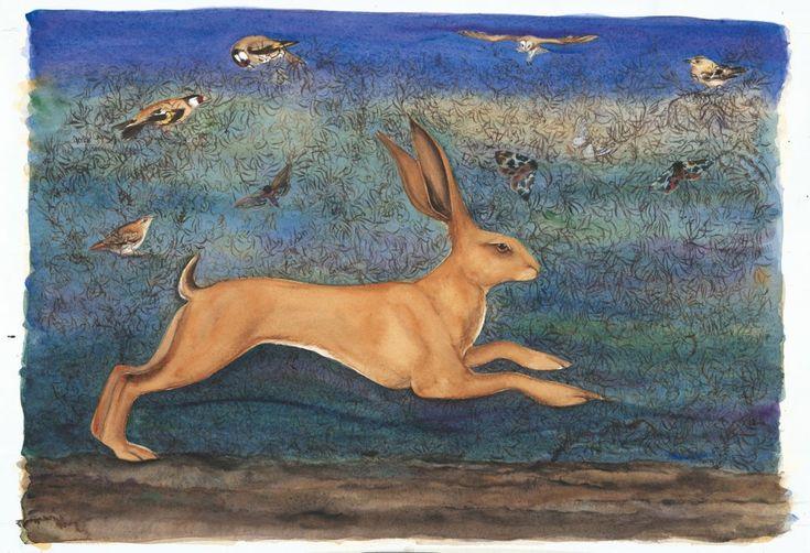 Golden Hare by Jackie Morris - new queen