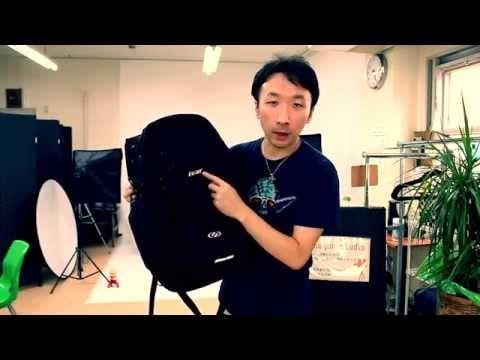 疲れにくくて効率的に荷物を運べるバックパックivar - YouTube