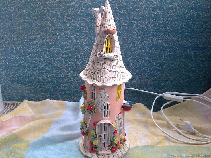 Светильник маленькой принцессы - купить или заказать в интернет-магазине на Ярмарке Мастеров | Светильник авторской ручной работы , керамика.