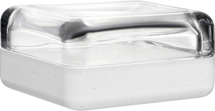 Iittala - Vitriini Box 108 x 108 mm clear/white Durat - Iittala.com