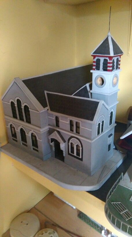Model of Town Hall, Skibbereen