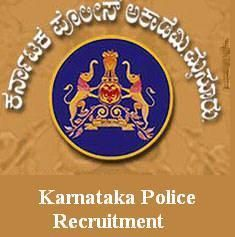 Karnataka Police Recruitment 2016