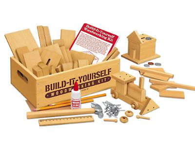 FOR B:  PURCHASED Build-It-Yourself Woodworking Kit at Lakeshore Learning
