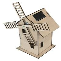 Lovely wooden solar windmill model set. Easy to assemble and great for educating on alternative sources of energy