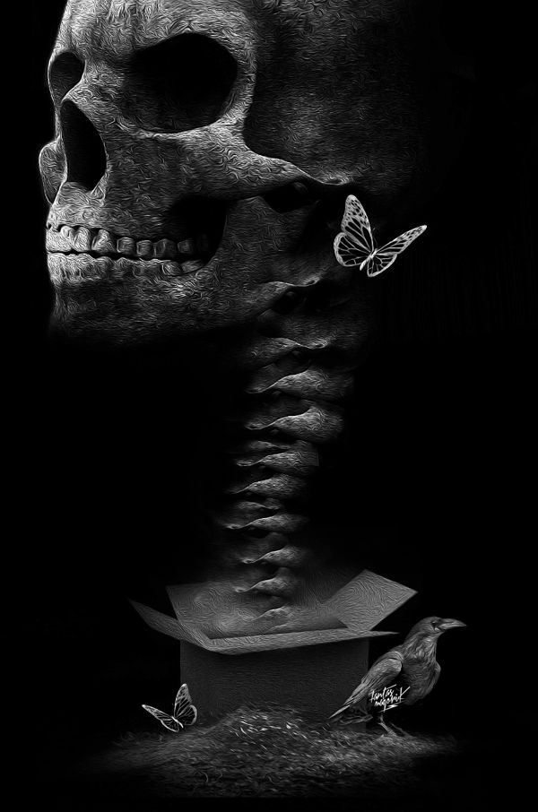 FANTASMAGORIK® SKULLPRISE by obery nicolas, via Behance