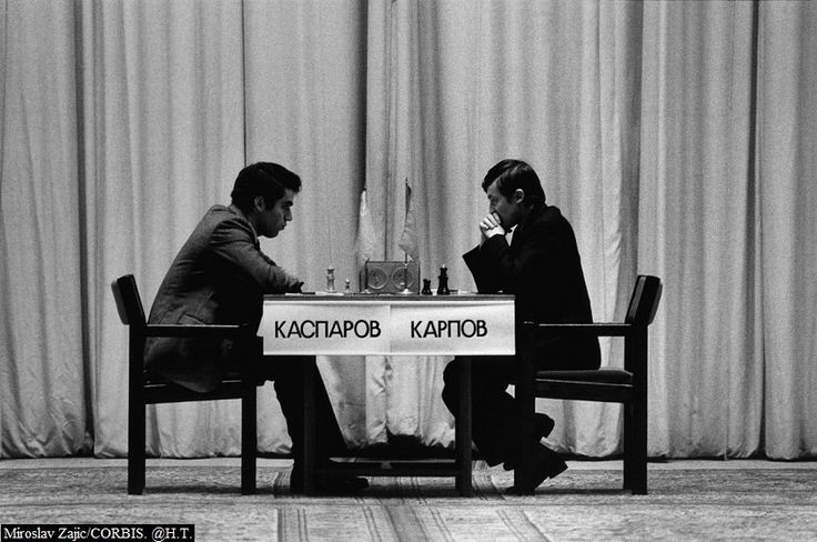 On Nov. 9, 1985, 22-year-old Garry Kasparov defeated Anatoly Karpov to become the youngest-ever world chess champion.