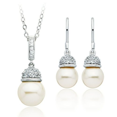 Virtue White Pearl Set