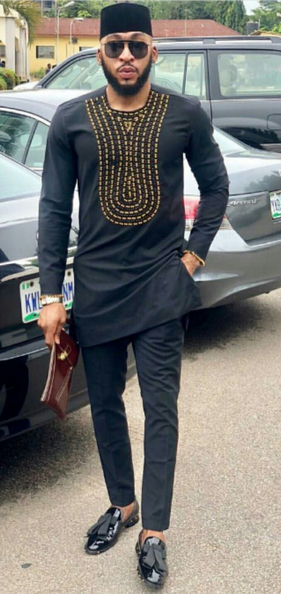 African prom suit,African men kaftan and matching pants,African men clothing,men/'s traditional outfit,top and bottom for men,men dashiki
