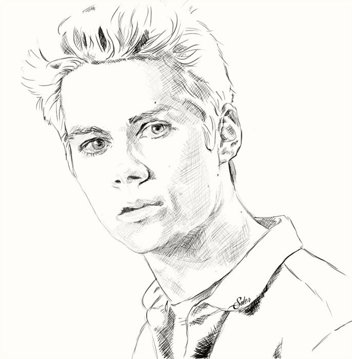 Stiles. Sketch by Alex-Soler.deviantart.com on @DeviantArt