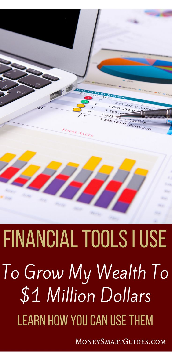 Financial Tools I Use | Do you want to be better at your finances? I've gone from $10,000 in debt to $1,000,000 of net worth. Learn the tools I use to grow my wealth. Ideas for saving, paying off debt, making money and investing. Click through to read the post! via @moneysma