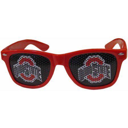 Ncaa Ohio State Game Day College Retro Team Logo Sunglasses, Red