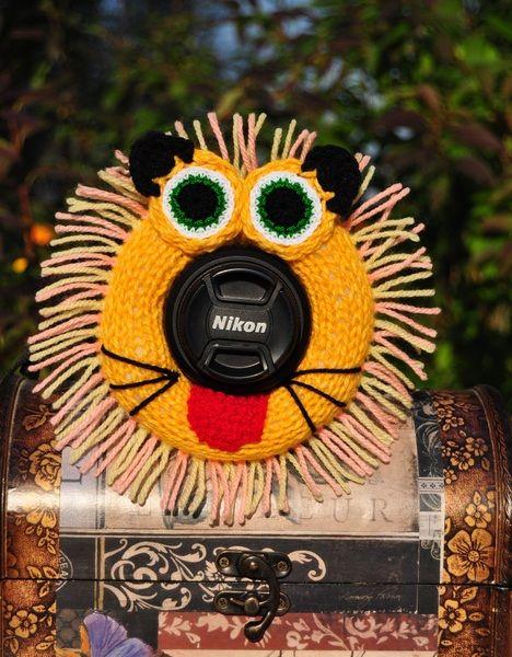 Der Löwe.Fotografen Helfer, Baby Foto-Requisiten. von Strick mit Liebe auf DaWanda.com
