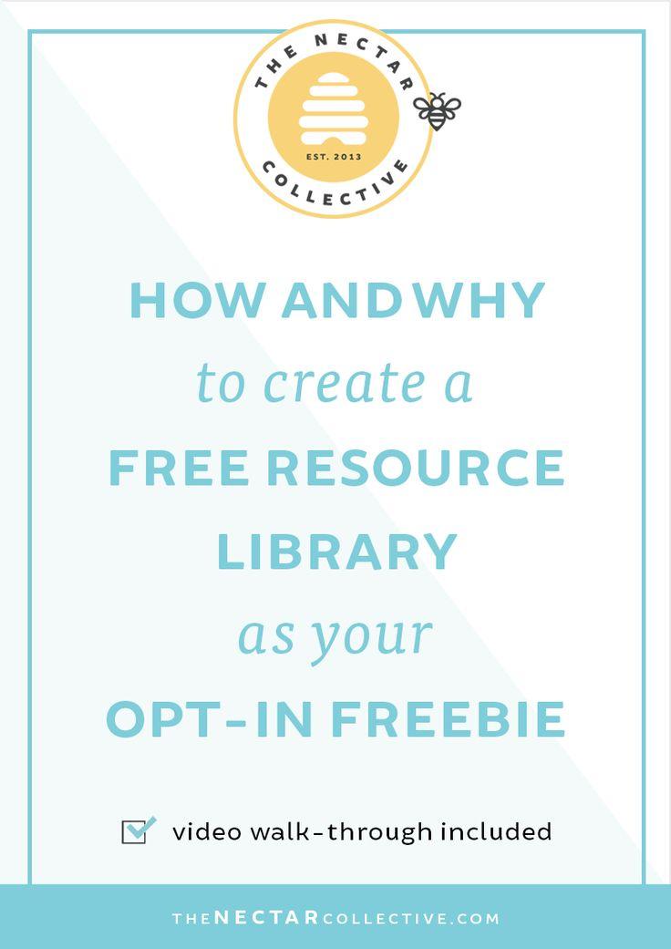 Comment et pourquoi créer une bibliothèque de ressources gratuites que votre opt-in Freebie