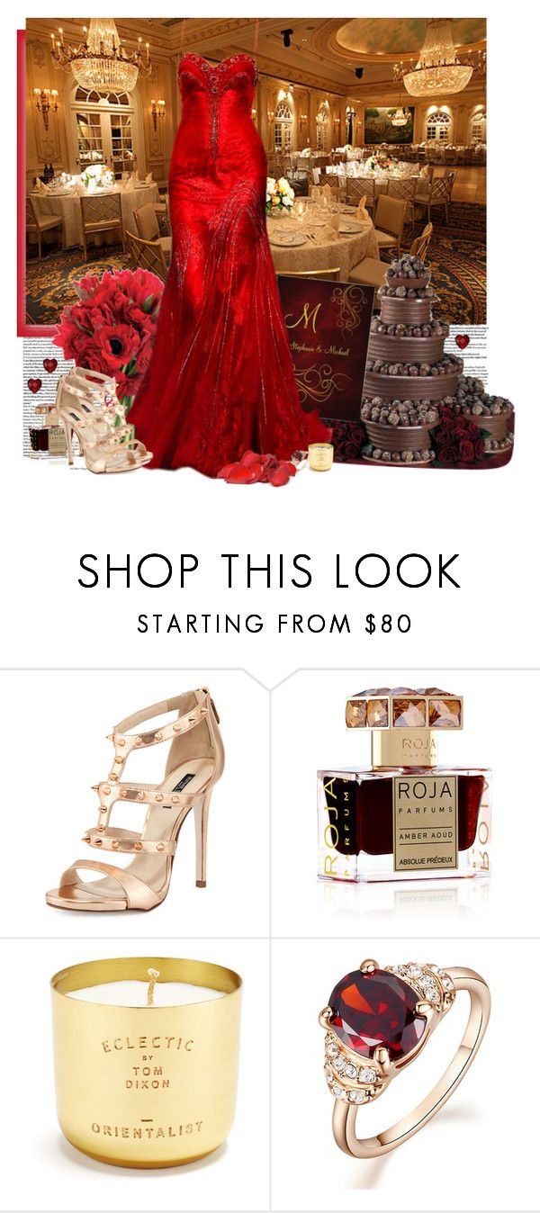 """rose inspired wedding"" by priscilla12 ❤ liked on Polyvore featuring Ruthie Davis, Roja Parfums, Tom Dixon and Collette Z"