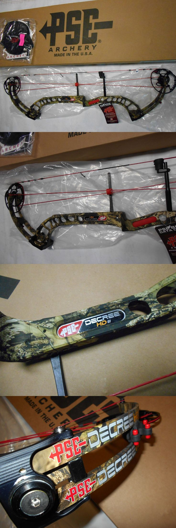 Compound 20838: @New@ 2016 Pse Decree Hd Ti Compound Bow! Rh Camo 25.5-31.5 46-60Lb. -> BUY IT NOW ONLY: $549.99 on eBay!