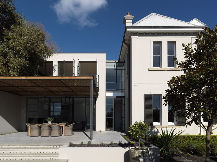 This Woollahra house weaves the rich heritage character of an original Victorian house, with elements that are unashamedly contemporary. Stripped of years of accretions, the original house has been exposed and brought to the fore....