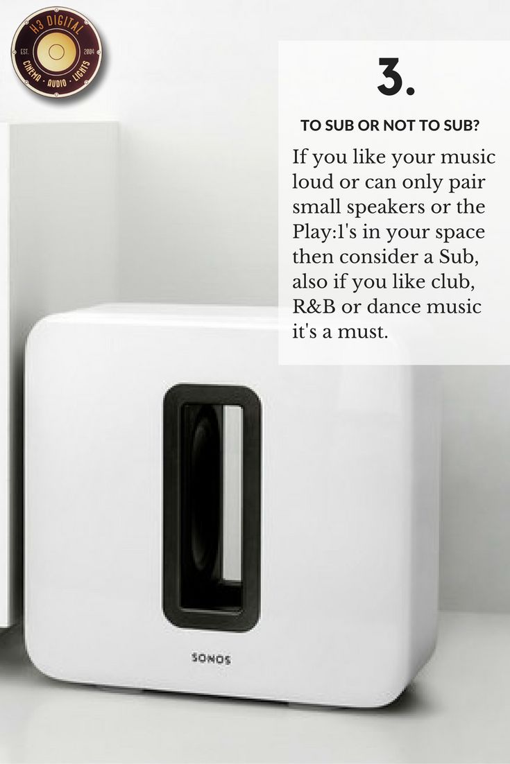 The 3rd Question to ask yourself before buying your Sonos Audio System.