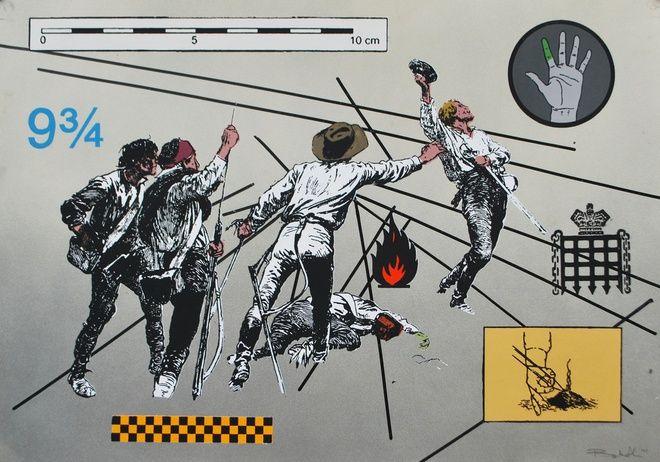 Ryan Metke, Prancer - Grey, 2014 at www.meadcarney.com  #RyanMetke #MeadCarney #London #art #artgallery