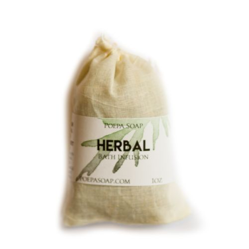 Vegan Luxury Bath Tea from Poepa Soap