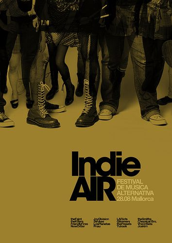 Love is Indie Air Festival / Ad2 by MARIN DSGN, via Flickr