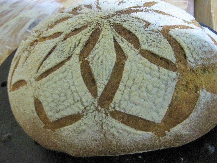 tutorial pane con intagli #bread #pane #paneintagliato