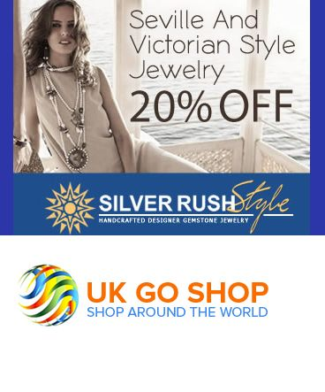 Hurry Up for an amazing 20% discount on SEVILLE AND VICTORIAN STYLE JEWELRY.  #silverrrush #ukgoshop #onlineshopping #discountshopping #shoppingdeals