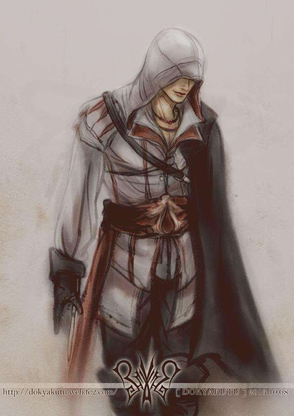[AC2]Ezio Auditore by dokyakutu on DeviantArt