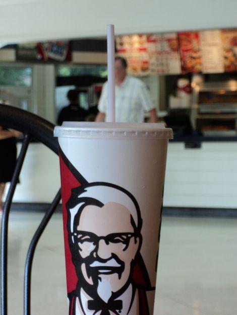 Original KFC Spot the Colonel