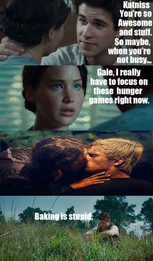 Hunger Games Meme #Busy, #Stupid