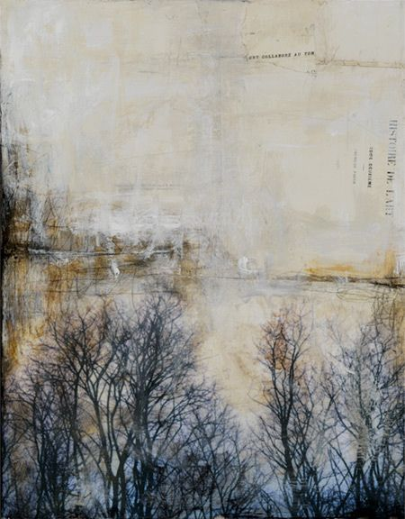 landscape piece by Bridgette Guerzon Mills